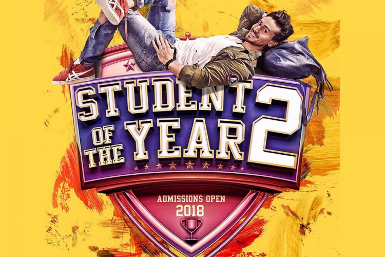 Student Of The Year 2 presenting by Karan Johar starring Tiger Shroff; Poster is out