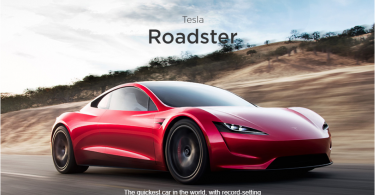 Tesla Roadster 2.0 launches by Elon Musk; Will reach 60mph in 2 seconds