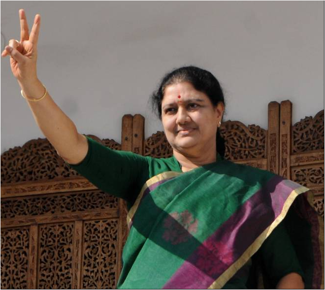 I-T department raids on premises of V.K. Sasikala in Chennai and Madurai