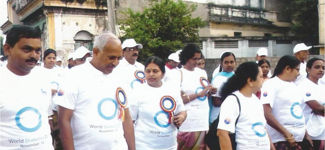 World Diabetes Day 2017: Delhi air pollution postponed Walkathon to India gate