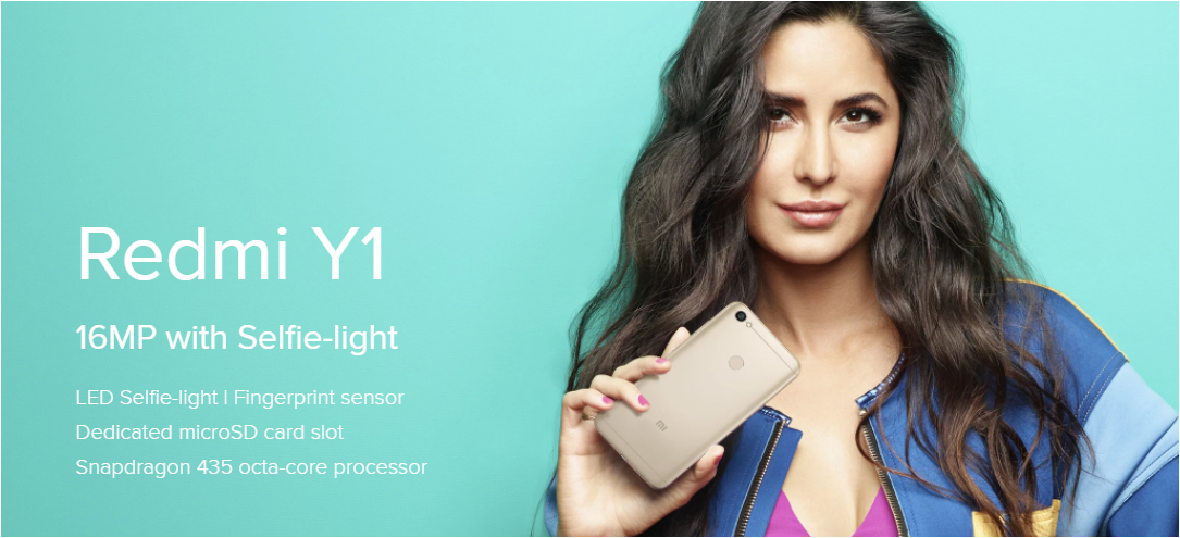 Xiaomi Redmi Y1 and Redmi Y1 Lite launched today in India with new selfie camera