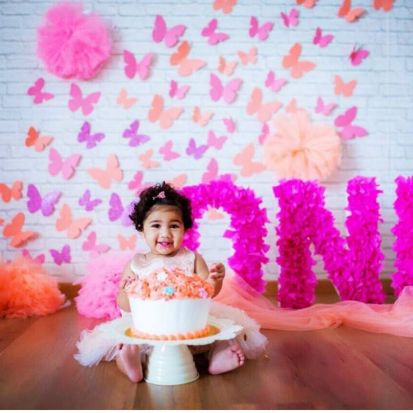 Allu Arjun post his daughter Arha's first birthday picture on Instagram