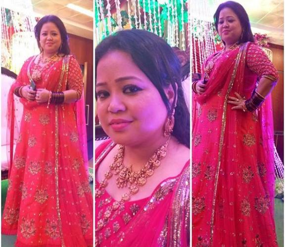Bharti's bangle ceremony with showers love of Mona Lisa & many TV starts