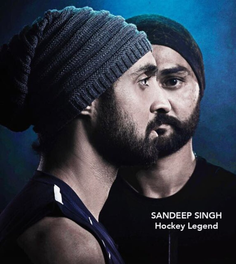 Diljit Dosanjh's First Teaser Poster of Sandeep Singh Biopic movie, Reviles Today