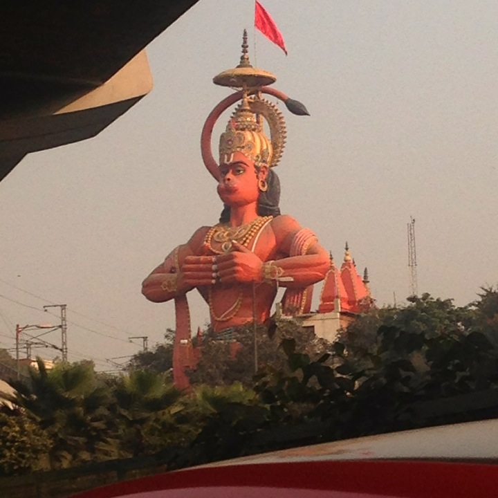 Delhi High Court suggests to airlift 108 feet long Hanuman statue of Karol Bagh