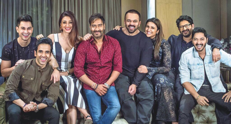 Golmaal Again soon to join Rs. 200 club after the third week of the release
