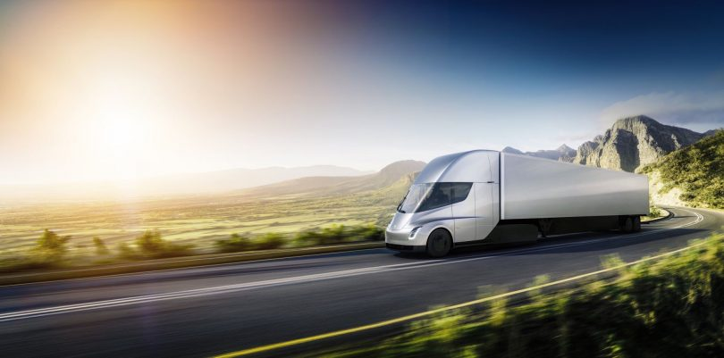 Tesla Introduces First Electric Big-Rig Truck, Production starts in 2019