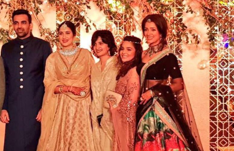 Zaheer Khan & Sagarika Ghatge, Host Grand Reception after Wedding