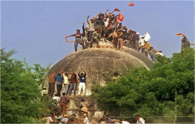 Babri demolition 25th year marks Shaurya Diwas and Black day in Ayodhya today