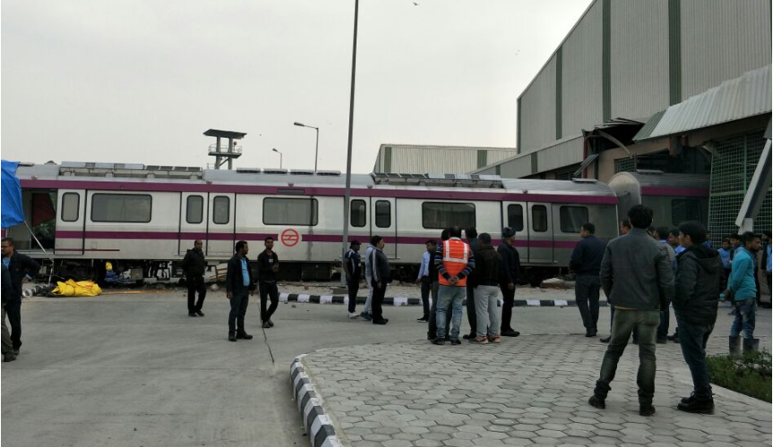 Delhi's first driverless Metro crashed; DMRC suspends four officials
