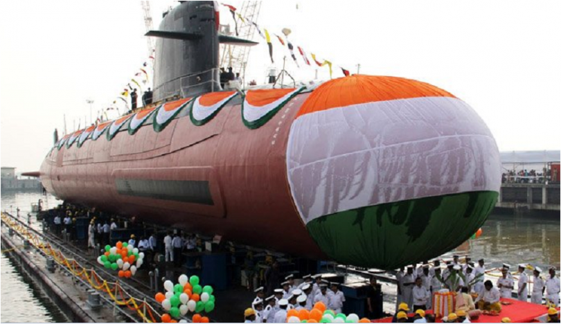 PM Modi commissions INS Kalvari submarine into Indian Navy today