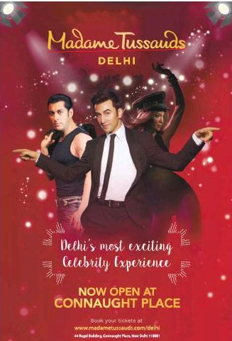 Madame Tussauds now open in Connaught Place, Delhi