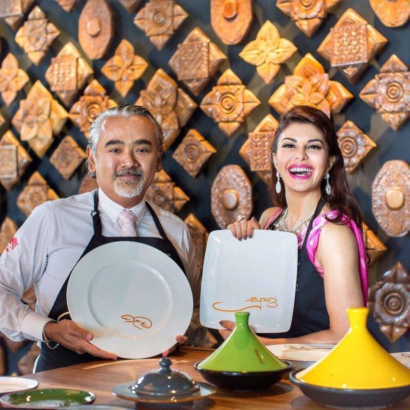 Jacqueline Fernandez opens restaurant Kaema Sutra in Colombo