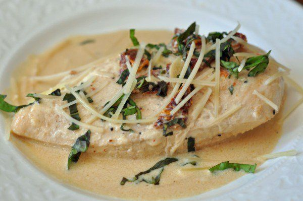 Recipe for Creamy Chicken Breast in just 25 minutes