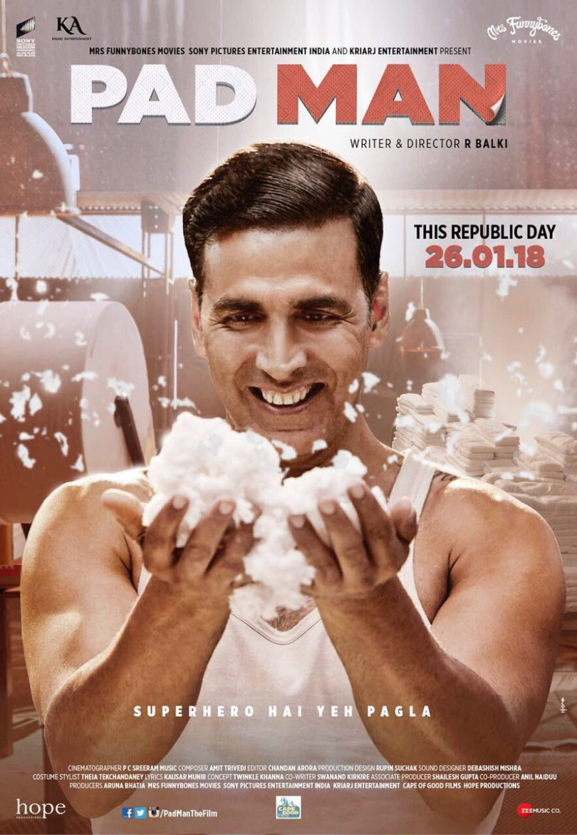 Padman movie poster: Akshay Kumar is a common superman