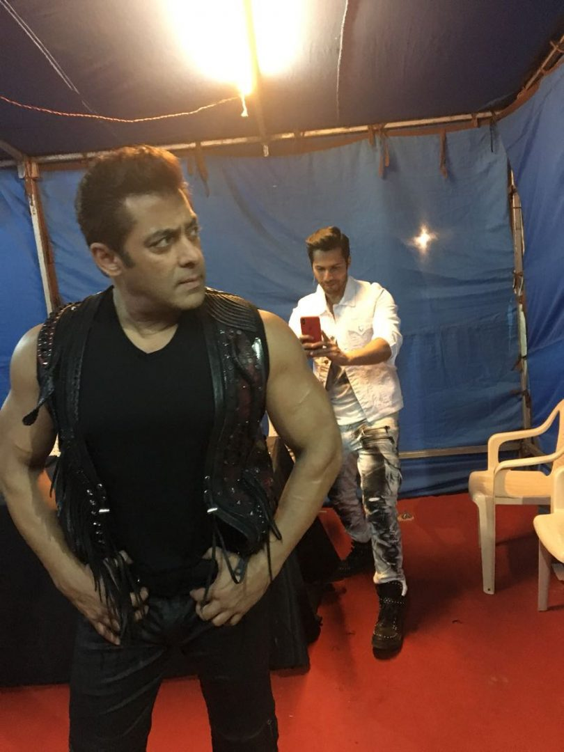 Salman Khan shares new photograph with Varun Dhawan