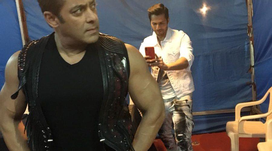 Salman Khan shares new photograph with Varun Dhawan