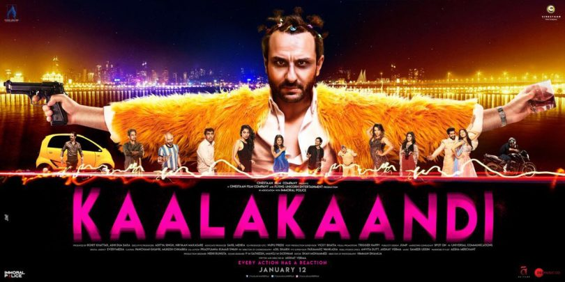 Kaalakaandi first look: Saif Ali Khan looks funky on the first poster