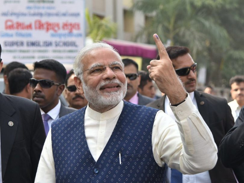 BJP wins Gujarat and Himachal Pradesh election 2017; Modi's Magic sets huge victory