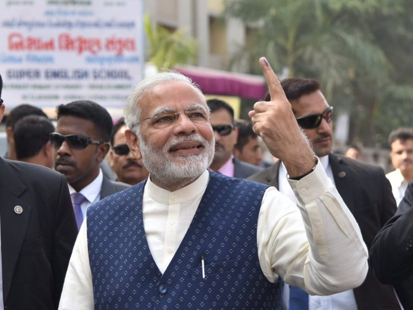 Election 2017 Phase 1 counting: BJP leads 106 seats in Gujarat
