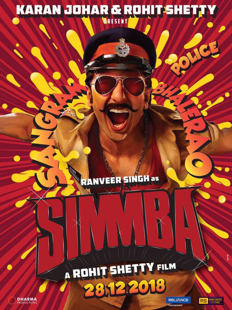 Ranveer Singh plays notorious cop role in Rohit Shetty's Simmba movie