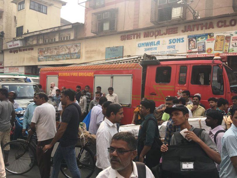 Mumbai: Four-storey building collapses in Zaveri Bazaar