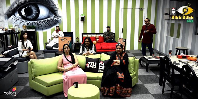 Bigg Boss 11 Live: Relatives come for the luxury task