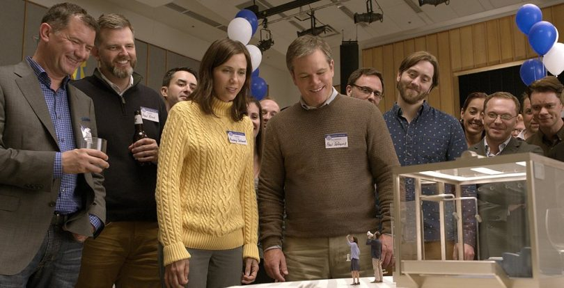 Downsizing Movie Review: An Amazing Sci-fi comedy about small people
