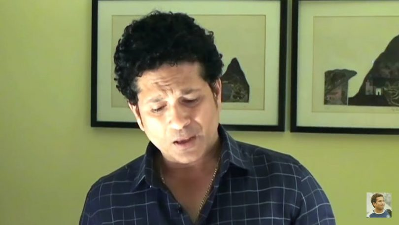 Sachin Tendulkar speaks up on Social Media, after being silenced in Parliament