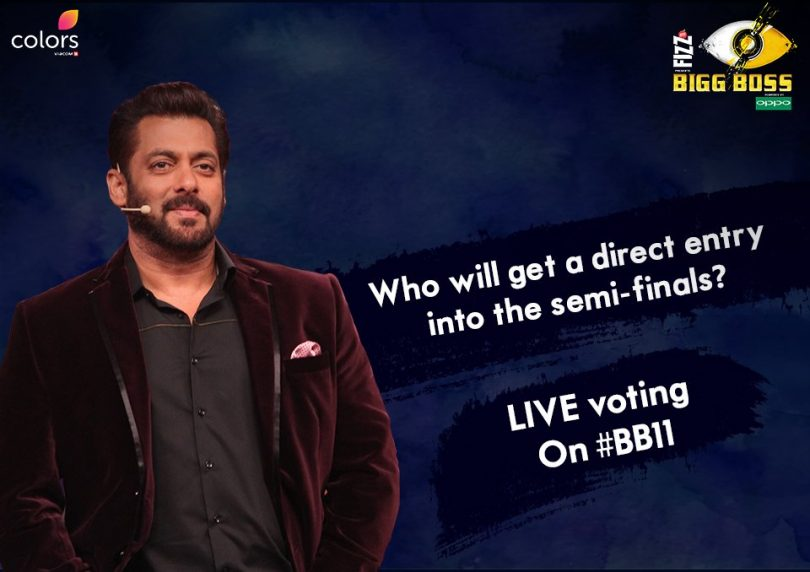 Bigg Boss 11 weekend ka Vaar: Live voting to be introduced