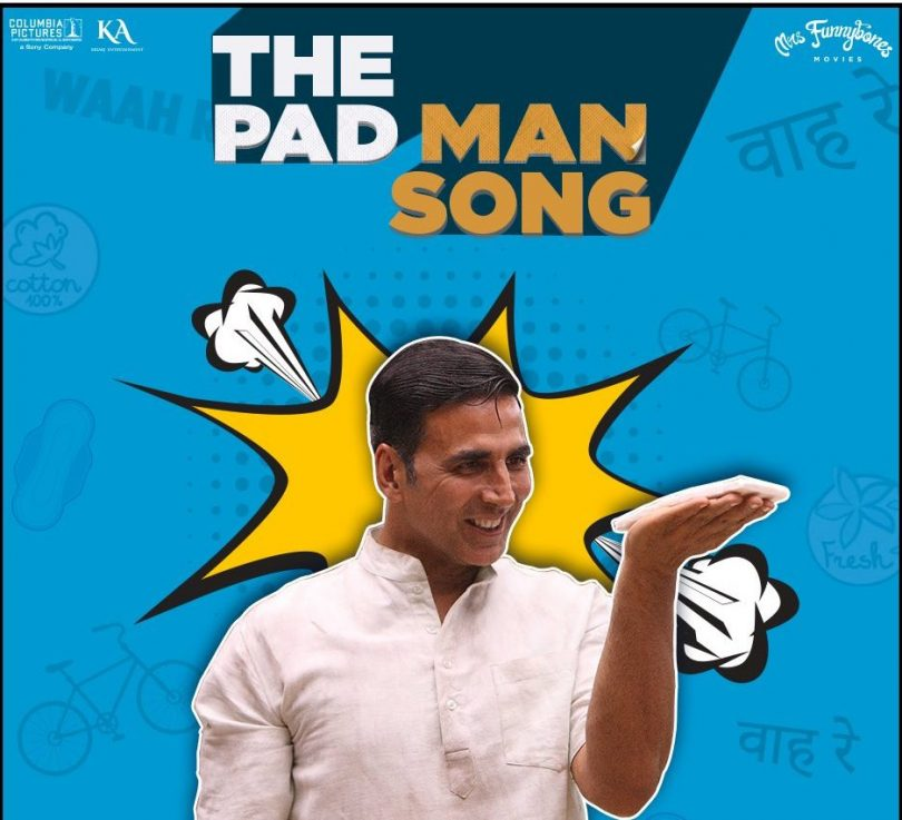 Akshay Kumar starring The Padman song is out now