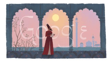 Google Doodle honors the last great mughal poet Mirza Ghalib