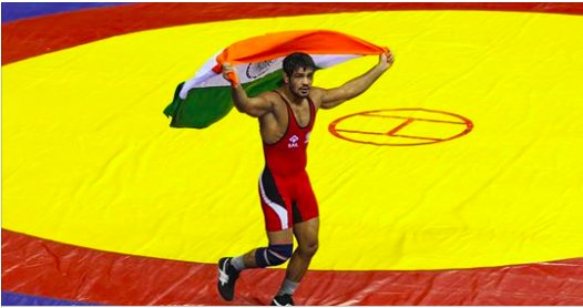 Drama, Chaos as Sushil Kumar qualifies for 2018 CWG