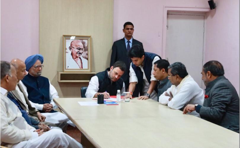 Rahul Gandhi has become Congress President today; PM Modi calls Aurangzeb Raj