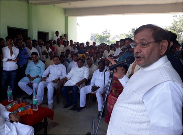 Sharad Yadav disqualification from Rajya Sabha is unconstitutional says Arvind Kejriwal