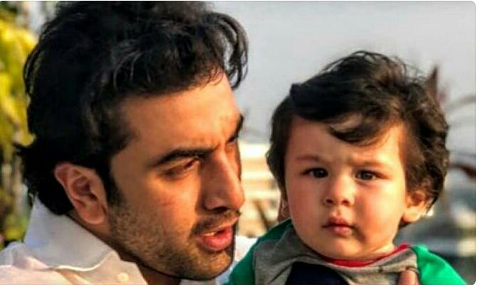 Ranbir and Taimur look adorable during Christmas brunch