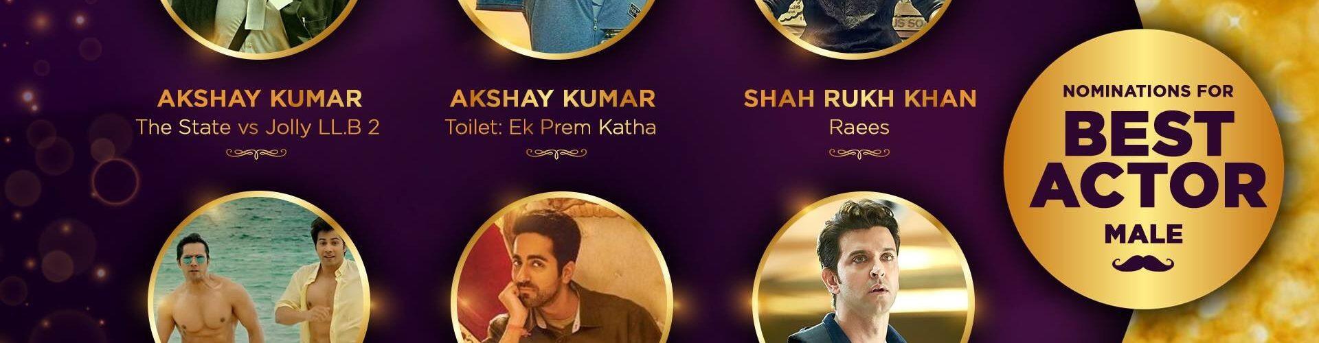 Zee cine award 2017: Vote your favorite star to make them shine