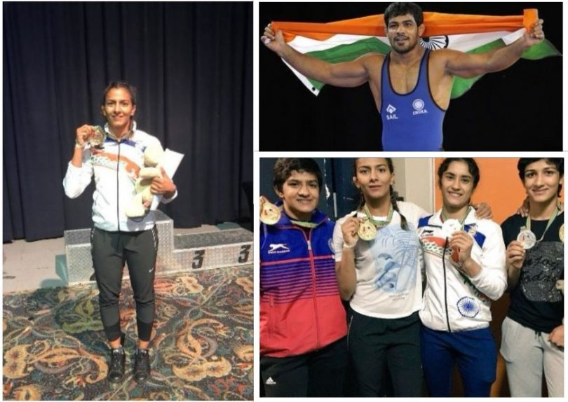 Commonwealth Wrestling Championship 2017: Sushil Kumar and Phogat sisters win gold medal