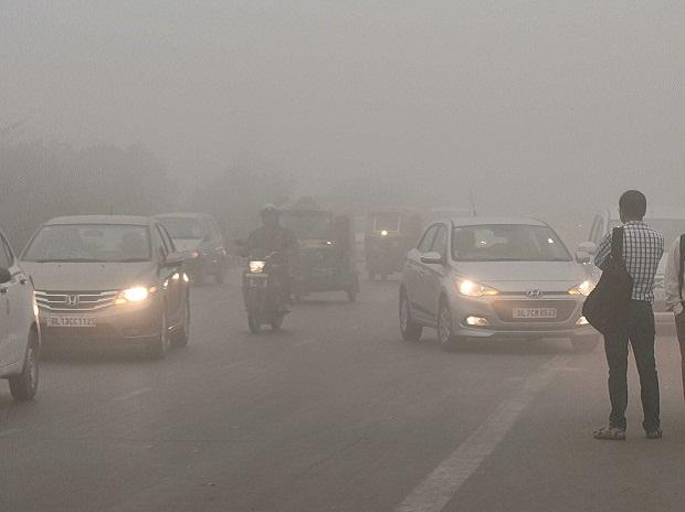 Delhi's air quality improves for the first time