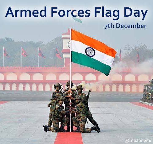 Armed Forces Flag Day celebrated at Raj Bhawan