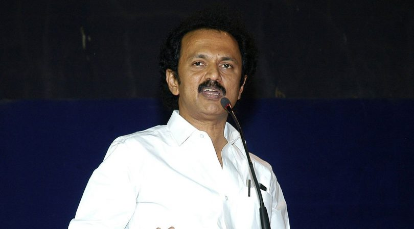 DMK leader M. K. Stalin demands OPS' resignation