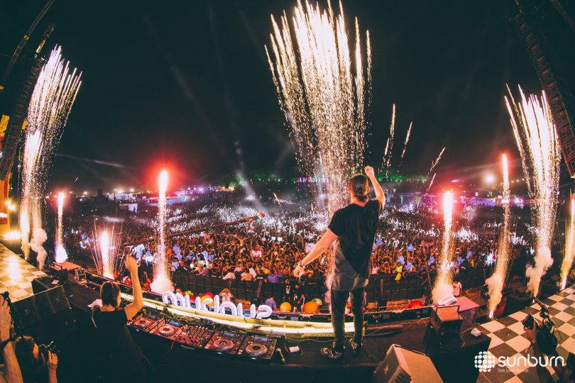 Sunburn Music and Female DJ will going to Double New Year celebration in Pune