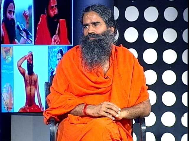 Ajay Devgan revealed the first look of 'Swami Ramdev: Ek Sangharsh', based on Yoga Guru