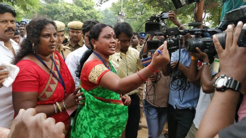 R K nagar bypoll ellections: TTV Dhinakaran leading over AIADMK Madhusudanan