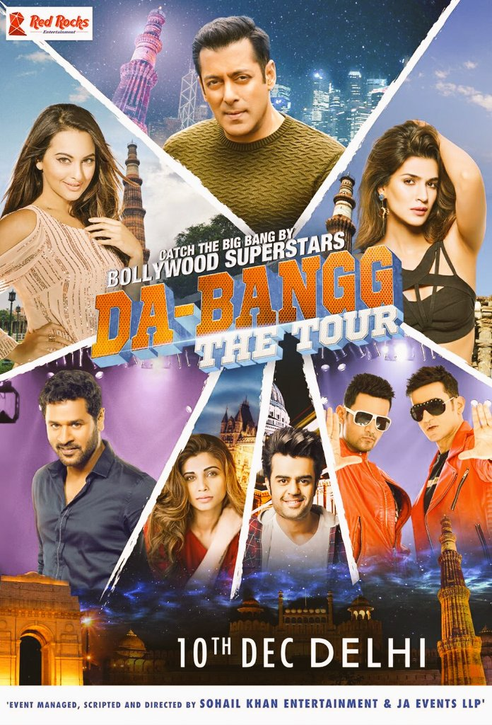 Salman Khan's DABANGG – The Tour, all set for Delhi on December 10