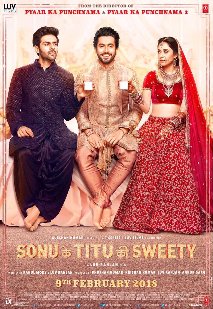 Luv Ranjan's 'Sonu Ke Titu Ki Sweety' Trailer released today