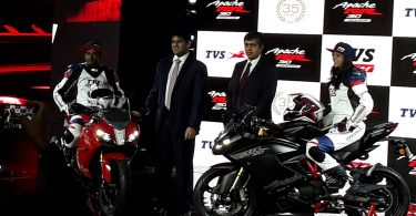 TVS Apache RR 310 launches at Rs 2.05 lakh