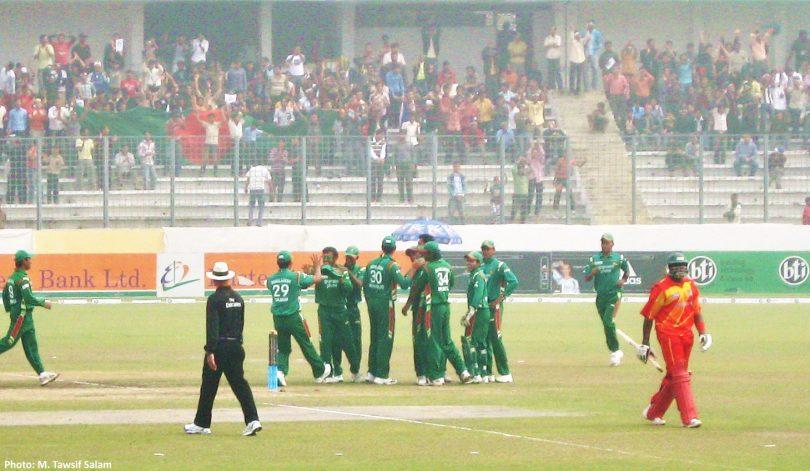 Tri Nation Series 5th ODI; Zimbabwe vs Bangladesh