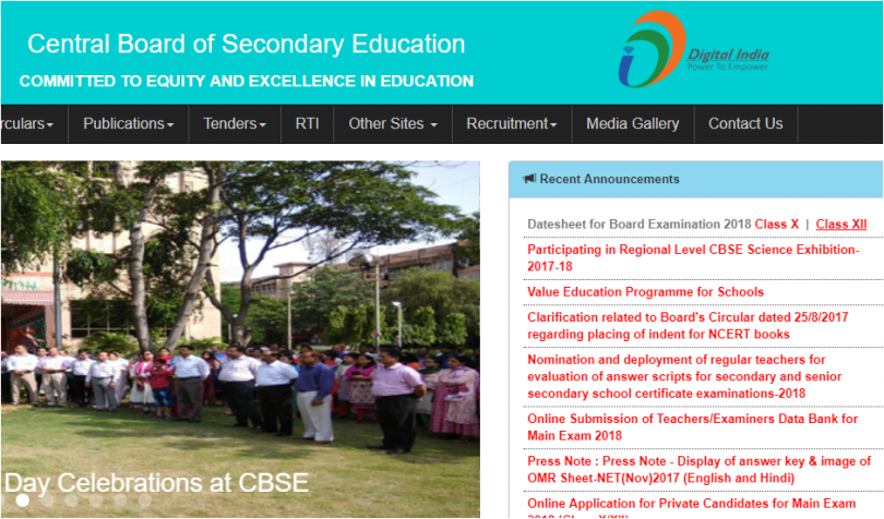 CBSE date sheet 2018 of Class 10th and 12th exams released at cbse.nic.in