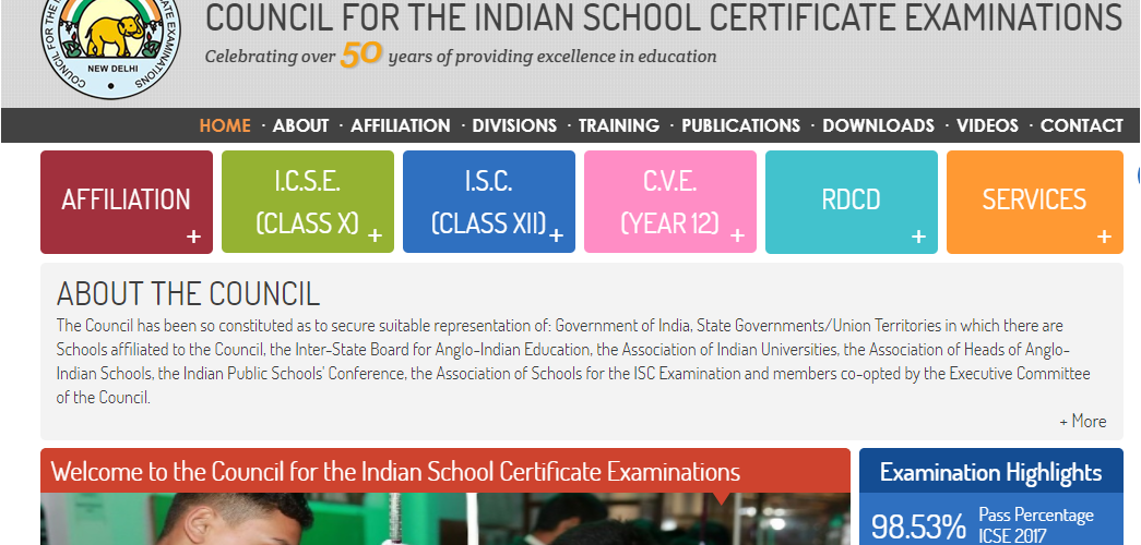 CISCE date sheet 2018 for ICSE and ISC exams available at cisce.org; Download now